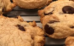 Lauren Guhl's successful attempt at baking Marist's chocolate chip cookies from home!