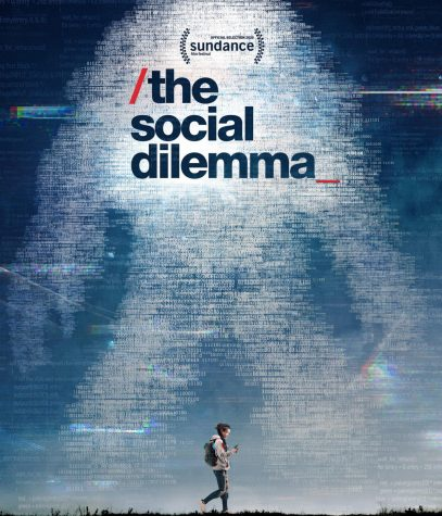 "The poster for the Netflix documentary ""The Social Dilemma"""