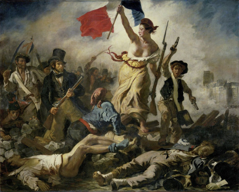 """Liberty Leading the People,"" Eugene Delacroix"