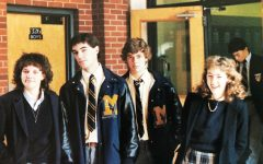 Gerrick '85 (far left) with some of her friends at Marist.