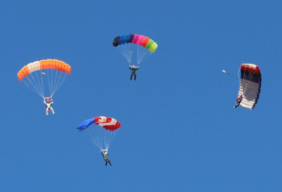 Join the Football Team… or the Skydiving Team!